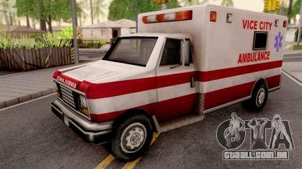 Ambulance from GTA VC para GTA San Andreas