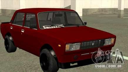 Cereja VAZ 2105 de Combate Clássicos para GTA San Andreas