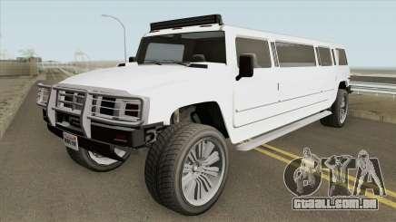 Mammoth Patriot Stretch GTA V IVF para GTA San Andreas