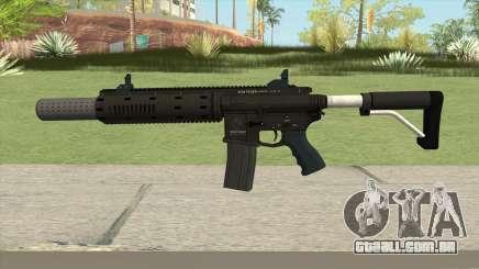 Carbine Rifle GTA V Silenced (Default Clip) para GTA San Andreas