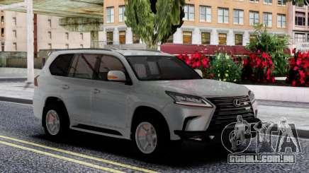 Lexus LX570 2016 Offroad para GTA San Andreas