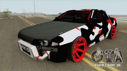 Nissan Skyline R32 Drift Camo para GTA San Andreas