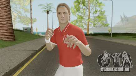 Totti (Legend) From Pro Evolution Soccer 2019 para GTA San Andreas