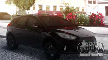 Ford Focus RS 2018 Black para GTA San Andreas