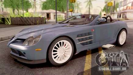 Mercedes-Benz SLR 722 Roadster para GTA San Andreas