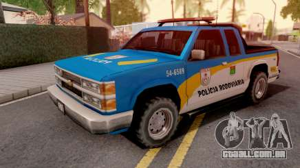 Chevrolet S-10 Policia Rodoviaria para GTA San Andreas