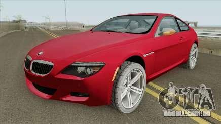 BMW M6 HQ para GTA San Andreas