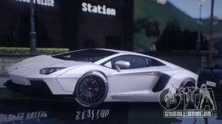 Lamborghini Aventador Coupe para GTA San Andreas