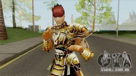 Warrior Yongsin From Metin 2 para GTA San Andreas