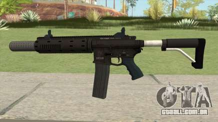 Carbine Rifle GTA V Silenced (Extended Clip) para GTA San Andreas