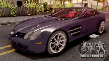 Mercedes-Benz SLR Violet para GTA San Andreas
