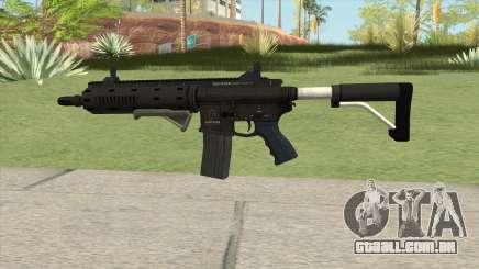 Carbine Rifle GTA V Default (Flashlight, Grip) para GTA San Andreas