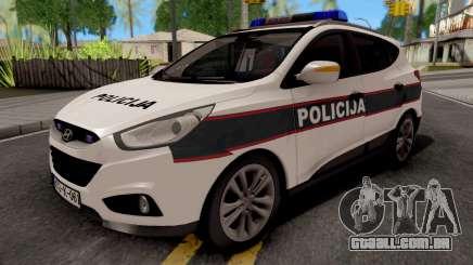 Hyunday IX35 Policija Bih para GTA San Andreas