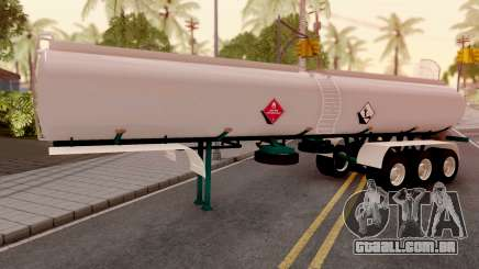 Carrotanque Trailer Colombiano para GTA San Andreas