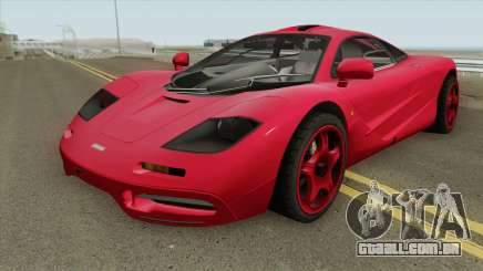 Mclaren F1 IVF para GTA San Andreas