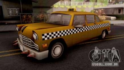 Borgine Cab GTA III Xbox para GTA San Andreas