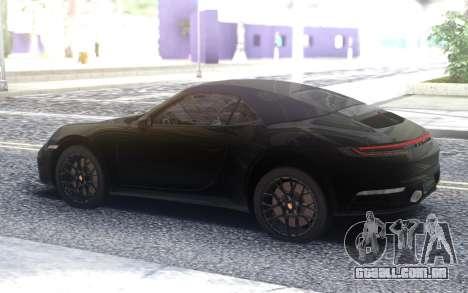 Porsche 911 Carrera 4s 992 para GTA San Andreas