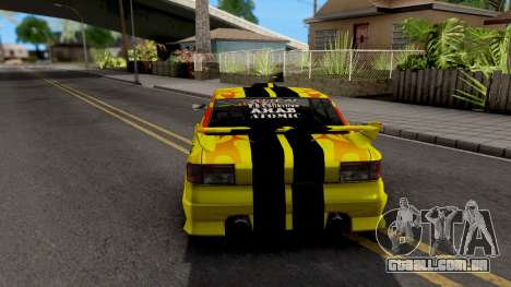 New Paint Job To Sultan para GTA San Andreas