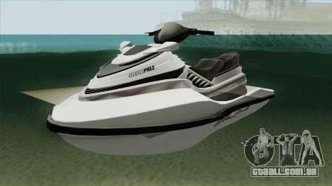 Speedophile Seashark Normal GTA V para GTA San Andreas
