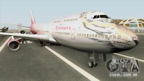 Boeing 747-400 (Rossiya Airlines) para GTA San Andreas