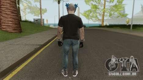 Male Random Skin From GTA V para GTA San Andreas