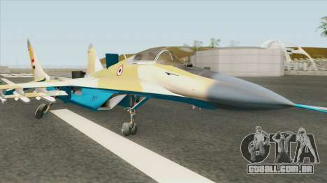 MIG-35 Egypt Air Forces para GTA San Andreas