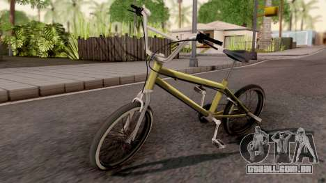 Smooth Criminal BMX para GTA San Andreas