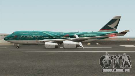 Boeing 747-400 RR RB211 (Cathay Pacific Livery) para GTA San Andreas