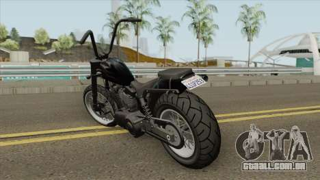Daemon GTA IV TLaD (Metal Negro) para GTA San Andreas