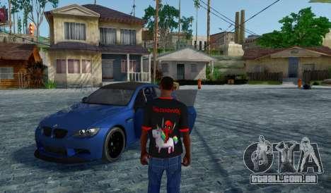 Deadpool T-Shirt Preto V1.0 para GTA San Andreas