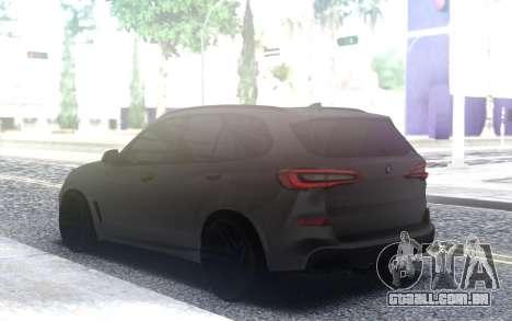 BMW X5 2019 para GTA San Andreas