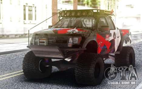 Ford Raptor F 150 para GTA San Andreas