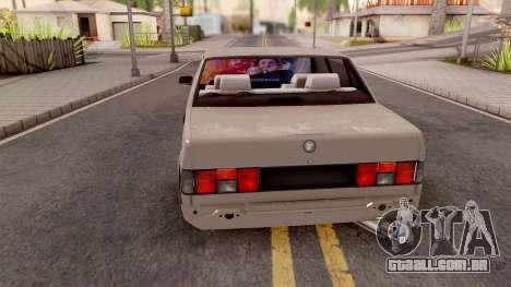 Tofas Dogan DRAG SLX para GTA San Andreas