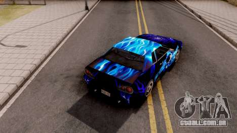 New Paint Job To Elegy para GTA San Andreas