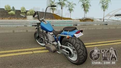 Daemon GTA IV (Metal Claro) para GTA San Andreas