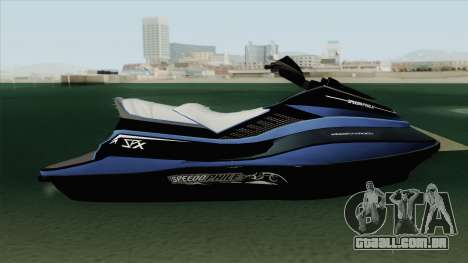 Speedophile Seashark Yatch GTA V para GTA San Andreas