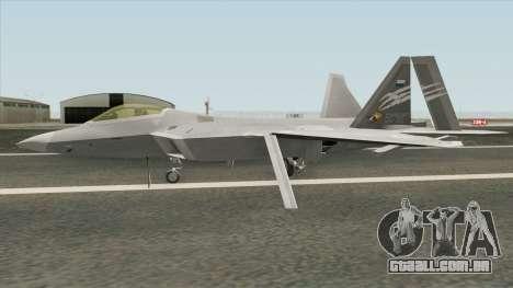 F-22A Trigger (Strider 1) para GTA San Andreas
