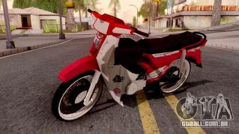 Honda EX5 para GTA San Andreas