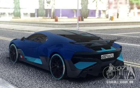 Bugatti Divo 19 para GTA San Andreas