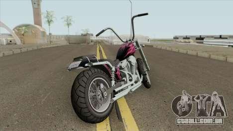 Daemon GTA IV TLaD (Metal Claro) para GTA San Andreas