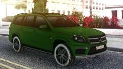 Mercedes-Benz GL 63 AMG Green para GTA San Andreas