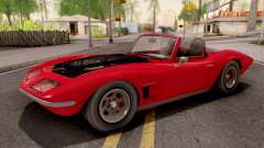 GTA V Invetero Coquette Classic TL Stock para GTA San Andreas
