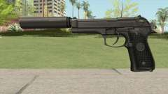 Firearms Source Beretta M9 Suppressed para GTA San Andreas