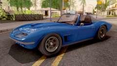 GTA V Invetero Coquette Classic TL Stock IVF para GTA San Andreas