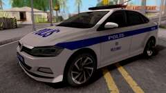 Volkswagen Polo TR Polis para GTA San Andreas
