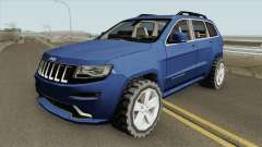 Jeep Grand Cherokee SRT 2014 (SA Style) para GTA San Andreas