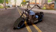 Zombie Metal Negro para GTA San Andreas