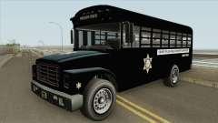 Prision Bus GTA V (Los Angeles County) para GTA San Andreas