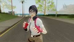Fortnite Female Nerd (Mia Khalifa) para GTA San Andreas