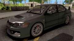 Mitsubishi Lancer EVO IX MR para GTA San Andreas